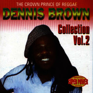 Albumcover Dennis Brown - The Crown Prince Of Reggae Vol. 2