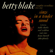 Albumcover Betty Blake - Betty Blake Sings in a Tender Mood. Complete Recordings 1957-1961