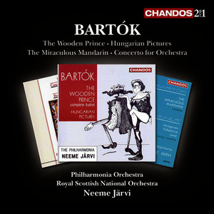 Albumcover The Philharmonia Orchestra - Bartók: The Wooden Prince, Hungarian Sketches, The Miraculous Mandarin & Concerto for Orchestra