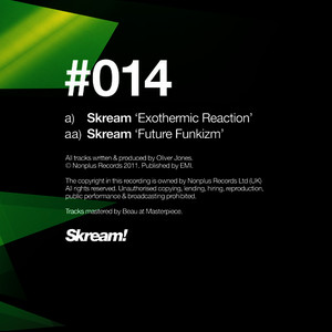 Albumcover Skream - Exothermic Reaction