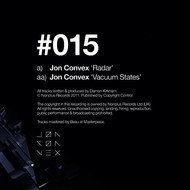 Jon Convex - Radar