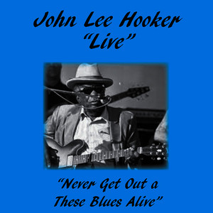Albumcover John Lee Hooker - Never Get out of These Blues Alive