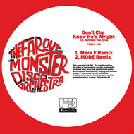 Albumcover The Far Out Monster Disco Orchestra - He's Alright Remixes