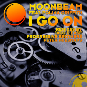 Albumcover Moonbeam featuring Polina Griffith - I Go On