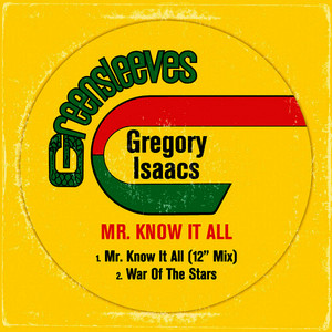 Albumcover Gregory Isaacs - Mr. Know It All - Single