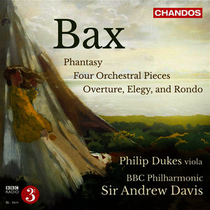 Albumcover Philip Dukes - Bax: Works for Viola & Orchestra