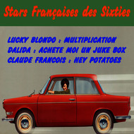 Albumcover Various Artists - Stars francaise des sixties
