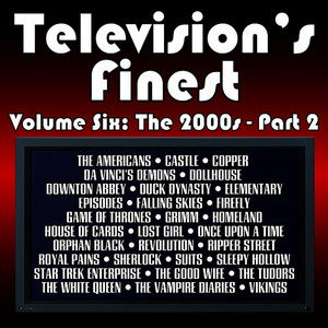 Albumcover Dominik Hauser - Television's Finest: Vol. Six - The 2000s Pt. 2