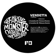 Albumcover The Far Out Monster Disco Orchestra - Vendetta (Mark Pritchard and Marcellus Pittman Remixes)