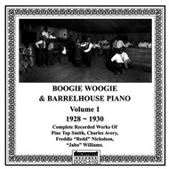 Various Artists - Boogie and Barrelhouse Piano, Vol 1 (1928 - 1930)