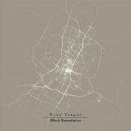 Albumcover Ryan Teague - Block Boundaries