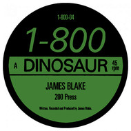 Albumcover James Blake - 200 Press EP