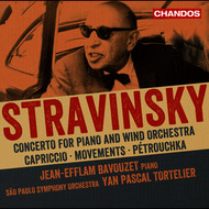 Jean-Efflam Bavouzet - Stravinsky: Works for Piano & Orchestra