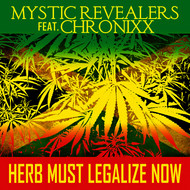 Albumcover Mystic Revealers - Herb Must Legalize Now - Single
