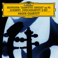 "Hagen Quartett - Beethoven: String Quartet No.11 In F Minor, Op.95 ""Serioso""  / Schubert: String Quartet In G, D. 887"