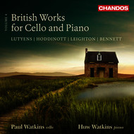Paul Watkins - British Works for Cello & Piano, Vol. 4