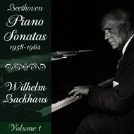 Wilhelm Backhaus - Beethoven: Piano Sonatas (1958-1962), Volume 1
