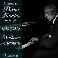 Wilhelm Backhaus - Beethoven: Piano Sonatas (1958-1962), Volume 2