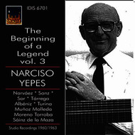 Narciso Yepes - The Beginning of a Legend, Vol. 3: Narciso Yepes