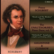 Caroline Clemmow - Schubert: The Unauthorised Piano Duos, Vol. 3