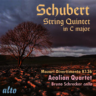 Bruno Schrecker & Aeolian Quartet - Schubert: String Quintet in C Major; Mozart: Divertimento in D