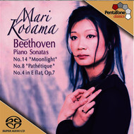 Mari Kodama - Beethoven: Piano Sonatas Nos. 4, 8 and 14