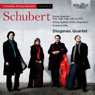 Diogenes Quartet - Schubert: Complete String Quartets vol. 5