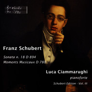 Luca Ciammarughi - Schubert: Piano Sonata No. 18, D. 894 & Moments musicaux, D. 780