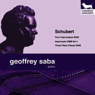 Geoffrey Saba - Schubert: Four Impromptus & Three Piano Pieces