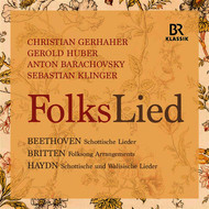 Christian Gerhaher - Beethoven, Britten & Haydn: FolksLied (Live)