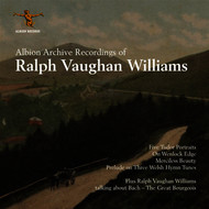 Various Artists - Vaughan Williams Archive Recordings