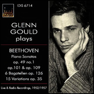 Glenn Gould - Beethoven: Piano Works