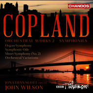 John Wilson - Copland: Orchestral Works, Vol. 2 (Symphonies)