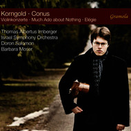Thomas Albertus Irnberger - Korngold: Violin Concertos - Conus: Much Ado About Nothing & Élégie