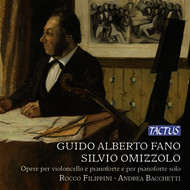 Rocco Filippini - Fano & Omizzolo: Works for Cello & Piano
