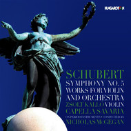 McGegan, Nicholas - Schubert: Symphony No. 5 and Works for Violin & Orchestra