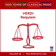Opera Australia Chorus [Chorus] - Verdi: Requiem (1000 Years Of Classical Music, Vol. 56)