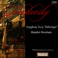 "Philharmonia Cassovia and Johannes Wildner - Tchaikovsky: Symphony No. 6, ""Pathetique"" - Hamlet - Fantasy Overture After Shakespeare"