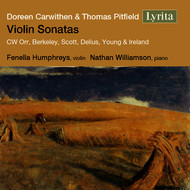 Various Artists - Carwithen & Pitfield: Violin Sonatas