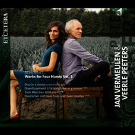 Jan Vermeulen & Veerle Peeters - Schubert: Works for Four Hands, Vol. 1