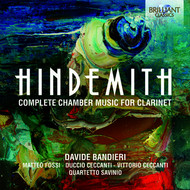 Davide Bandieri - Hindemith: Complete Chamber Music for Clarinet
