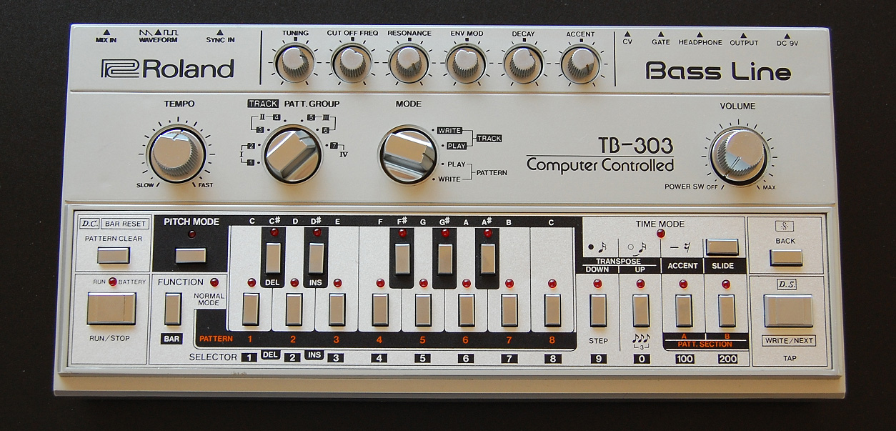 - Instruments That Changed The Game: The Roland TB-303 Turns 30